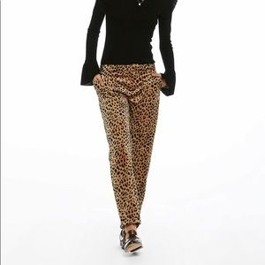 Scotch & Soda leopard velvet pants